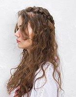 两边各梳一绺头发的长发型 各种简单梳头的发型