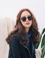 2017年韩国长发流行时尚卷发发型 韩式中长发卷发发型