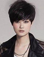 方脸适合的简单短发发型 四方脸短发发型图片