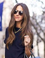 时尚中长卷发图片 性感成熟卷发