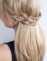 头发长简单的扎头发方法 头发长度到肩怎么扎发有气质