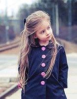 简单的长头发头型怎么弄 可爱三岁小女孩长头发
