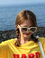 初中女孩长发怎么扎好看 长发眼镜女孩扎发图片
