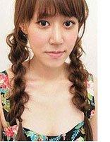 适合长发初中女生的梳的简单发型 初中学生长发发型扎法