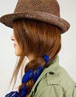 夏天长发怎么把它收进帽子里 夏天长发女生该怎么办