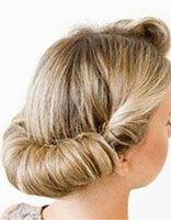 头发少的人长发怎样盘头 头发少又细长发怎么盘