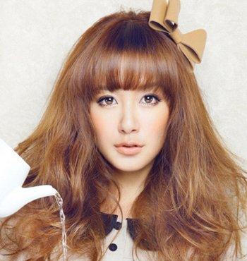 长方脸型适合什么样的发型图片 适合长方脸的发型