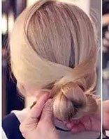 简单易学的日常发型有分解步骤图片的 儿童