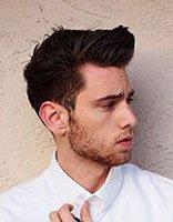 男生脸大什么发型好看 男士自己怎么做发型