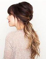 日常简单梳头发 日常简单盘头发的方法