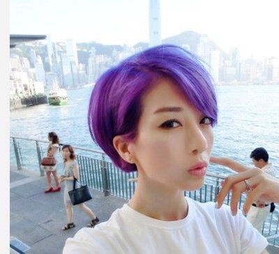 日式短发发型图片 日韩发型短发颜色