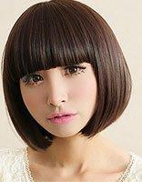 妹妹头的头发造型 妹妹头短头发