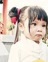 妹妹头怎样扎好看 小女孩的要图片