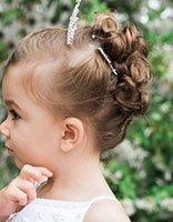 儿童短发辫子的扎法 头发短小孩子的辫子怎么扎