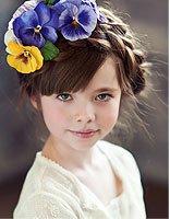简单编织长头发的方法 女童长头发怎么编好看