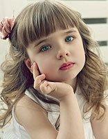 小女孩中长发绑发大全 小女孩长发扎发大全