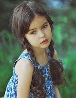 小孩子麻花辫的编法 小女孩麻花辫发型