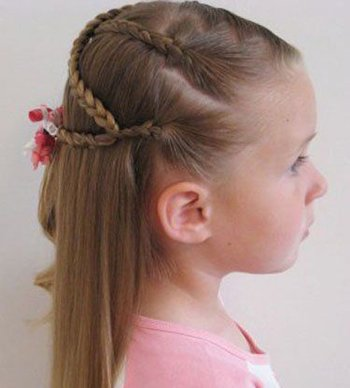 小女孩的发型咋梳 小女孩发型梳法图解解析
