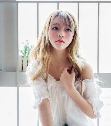 卷发刘海发型图片 韩式卷发发型图片