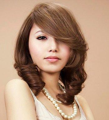 沙宣那么长的卷发那是什么发型 女生可爱卷发发型图片