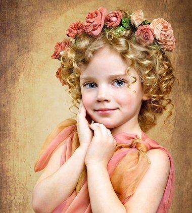 小孩的头发怎样卷起来 小孩卷发怎样弄好看