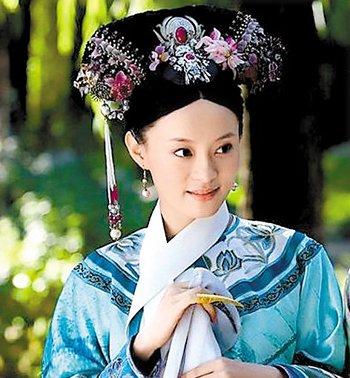 清朝女子发型梳法图解 清朝宫廷女人发型梳法