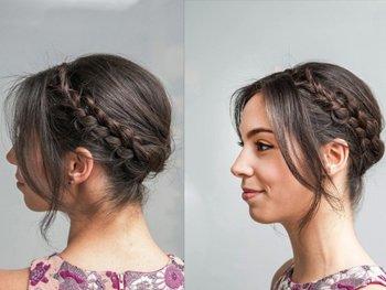自己在家用卷发梳可以吹出发型吗 中长卷发简单发型扎法