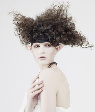 女生爆炸头卷发发型图片 头发怎么卷好看