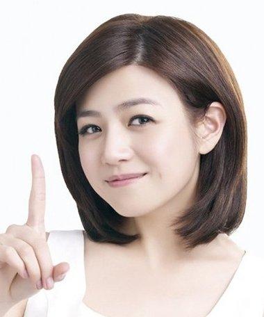 圆脸短发发型