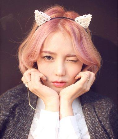 日韩流行短发发型 韩式中短发发型