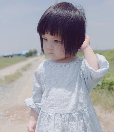2-3岁女宝宝短发发型 三岁女宝宝的短发发型