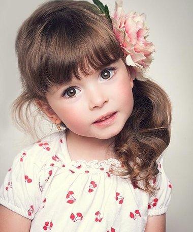 给小女孩梳头有啥好发型 5岁小女儿梳发发型
