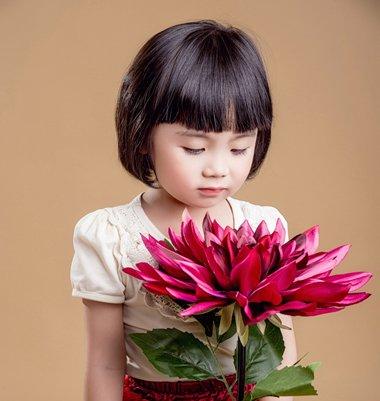 2岁女宝宝短发发型图片 小孩短发发型