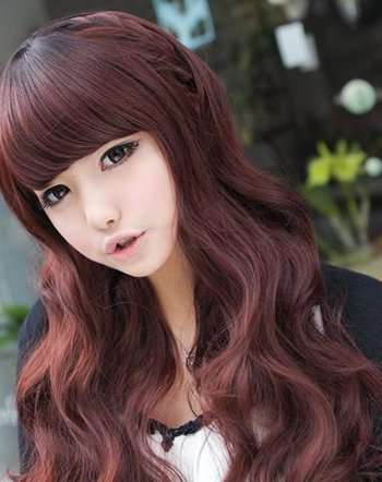 红棕色卷发衬肤色吗 17年女生做什么卷发好看