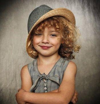 女童超级短头发怎样打理才好看 女童短发发型