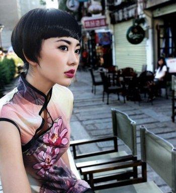 穿旗袍配什么短发发型 最新女款短发发型