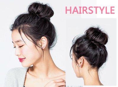 学生长头发怎么扎好看 学生中长头发又好看又省事的扎法
