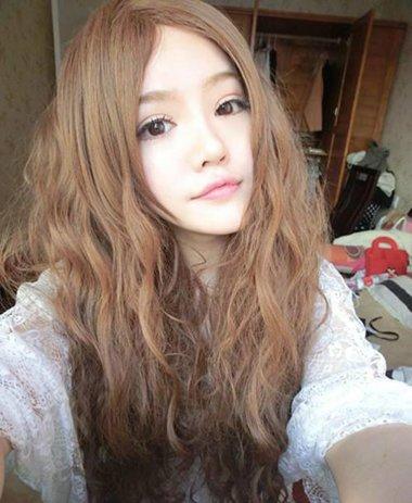 非主流女生时尚发型图片 女生非主流蓬头发型图片