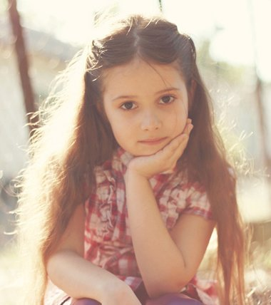儿童长头发简单扎法 8岁女孩长头发扎法图片