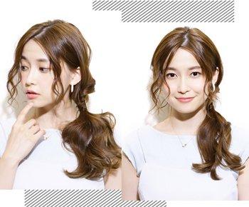 所有中长发的梳法详细步骤 20岁左右的女生长发梳头花样