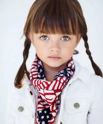 孩子头发短怎么扎小辫子 怎么给短头发宝宝梳辫子