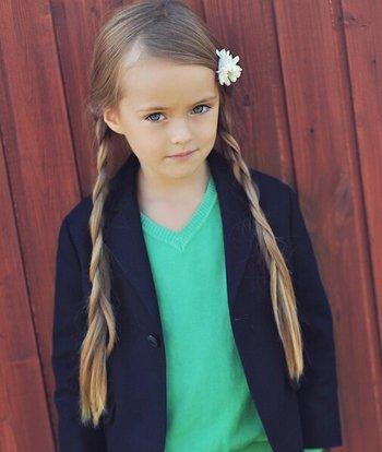 11岁女孩长头发怎样扎好看 小女孩长头发简单扎发发型