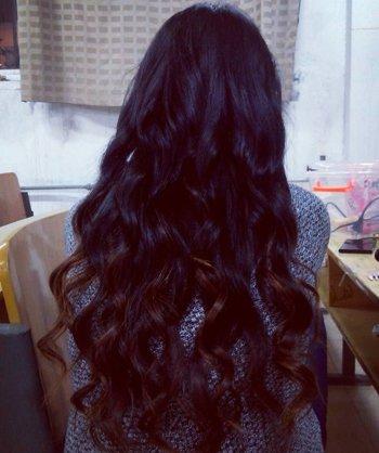 长头发女生烫什么发型好看 烫长头发花样图解