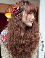 小卷爆炸头发型图片大全 最新韩国中长发小卷样式