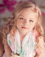 小女孩怎么卷发的 小女孩的公主卷发发型