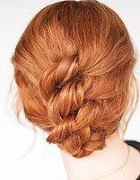 如何盘烫卷发既漂亮又简单 怎么隐藏烫过的卷发