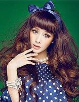 2017年最流行的卷发发型图片 女生韩国卷发发型图片