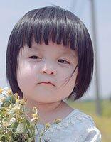 时尚女童短发发型 女童可爱短发发型