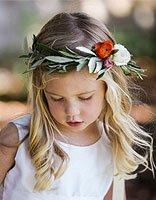 三岁小女孩长发发型及扎法 长发小女孩发型设计