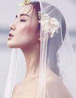 最新齐腰长直发发型 2017新娘齐腰长发发型